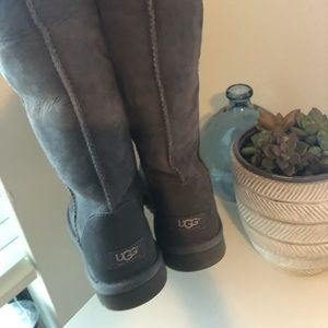 Grey Classic Tall Ugg Boots